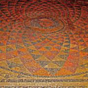 Mosaic Floor In Bergama Museum-turkey Art Print