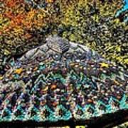 Mosaic Fly Art Print