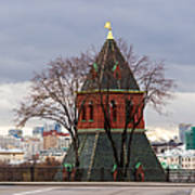 Moscow As Viewed From The Kremlin - Square Art Print