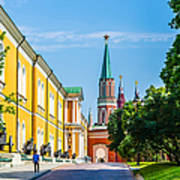 Moscow Kremlin Tour - 17 Of 70 Art Print