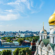 Moscow Kremlin Tour - 33 Of 70 Art Print