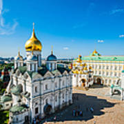 Moscow Kremlin Tour - 34 Of 70 Art Print