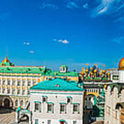 Moscow Kremlin Tour - 36 Of 70 Art Print
