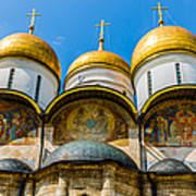 Moscow Kremlin Tour - 38 Of 70 Art Print
