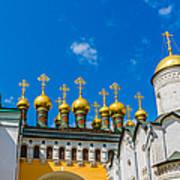 Moscow Kremlin Tour - 42 Of 70 Art Print