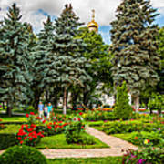 Moscow Kremlin Tour - 60 Of 70 Art Print