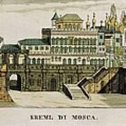 Moscow. Tsars Palace In The Kremlin Art Print