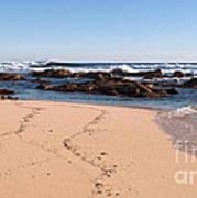 Moses Rock Beach 02 Art Print