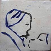 Moses - Tile Art Print