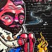 Mosh Wall Art Art Print by Tyler Lucas
