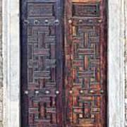Mosque Doors 01 Art Print