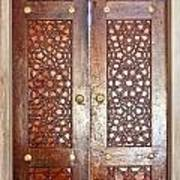 Mosque Doors 03 Art Print