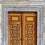Mosque Doors 05 Art Print