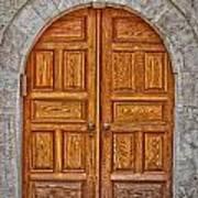 Mosque Doors 06 Art Print