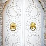 Mosque Doors 14 Art Print