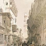 Mosque El Mooristan Print by David Roberts