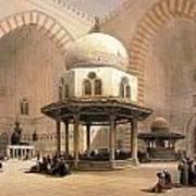 Mosque Of Sultan Hassan Art Print