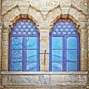 Mosque Windows 3 Art Print