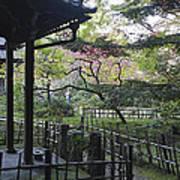 Moss Garden Temple - Kyoto Japan Art Print
