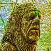 Moss Man - 02 Art Print
