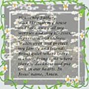 Most Powerful Prayer With Daisies Art Print