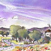 Mota Del Cuervo 04 Art Print