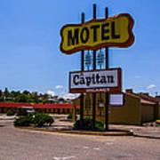 Motel Capitan Art Print