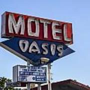 Motel Oasis Art Print