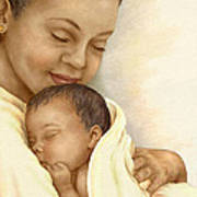 Mother Print by Beverly Levi-Parker