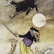 Mother Goose, 1913 Art Print