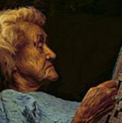 Mother Art Print by Hazel Billingsley