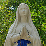 Mother Mary At Mother Cabrini Art Print