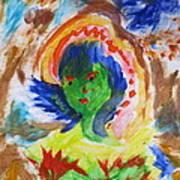 Mother Nature In Portrait Art Print