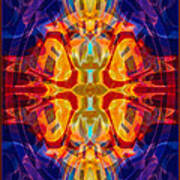 Mother Of Eternity Abstract Living Artwork Art Print