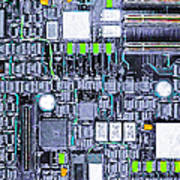 Motherboard Abstract 20130716 P38 Art Print