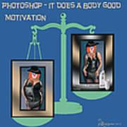 Motivation Art Print