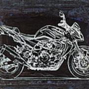 Moto Art 41 Art Print