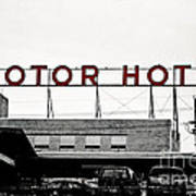 Motor Hotel Art Print