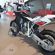 Motorbikes 1 Art Print