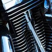 Motorcycle Engine Art Print