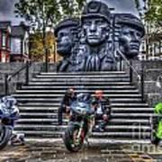 Motorcycle Rally 4 Art Print