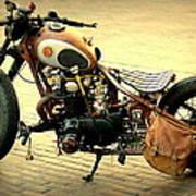 Motorcycle Statement Art Print