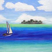 Motu Sailing Art Print