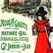Moulin De La Galette Art Print