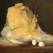 Mound Of Butter Art Print