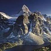 Mount Assiniboine And Sunburst Lake Art Print