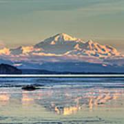 Mount Baker North Cascades National Park Art Print