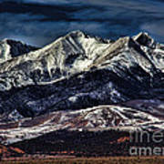 Mount Blanca Art Print
