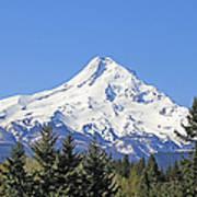 Mount Hood Mountain Oregon Art Print by Jennie Marie Schell