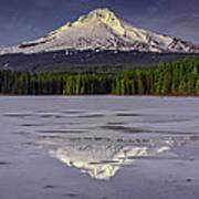 Mount Hood Reflections Art Print